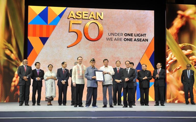ASEAN 50th year Anniversary