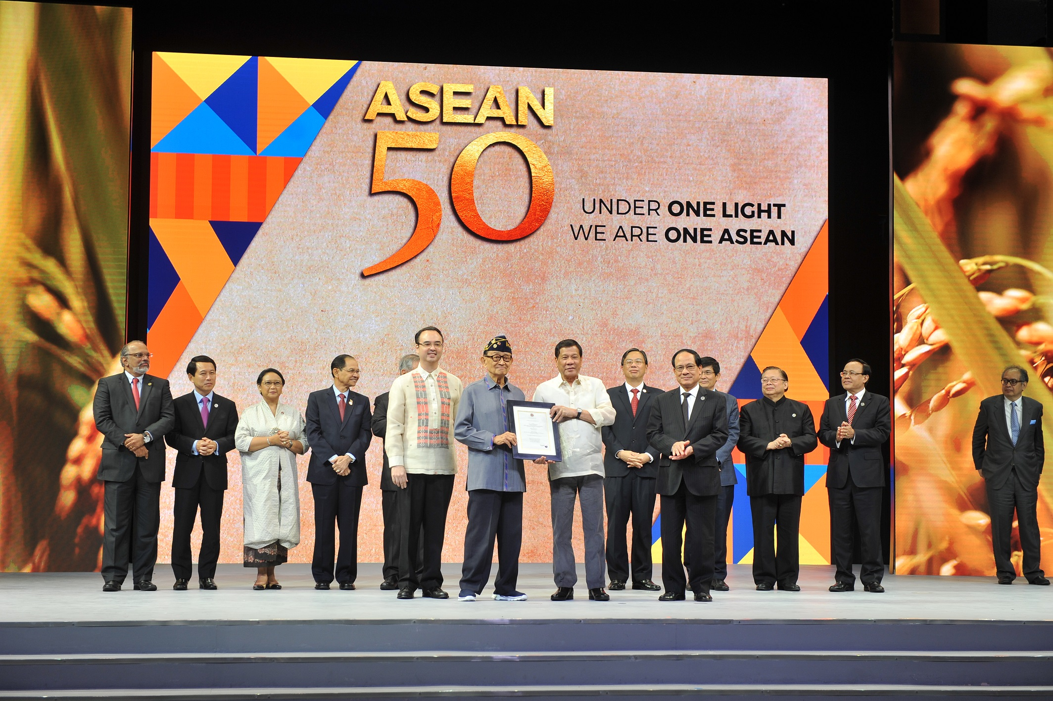 ASEAN 50th year Anniversary