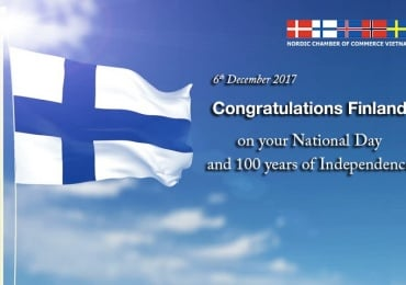 CONGRATULATIONS FINLAND ON 6 DECEMBER 2017 – 100 YEARS OF INDEPENDENCE