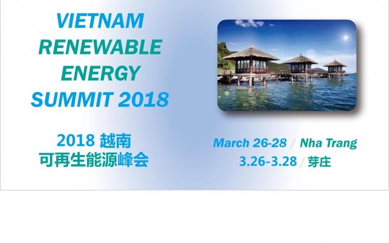 2nd Vietnam  Renewable Energy Summit 2018 (VRES 2018)