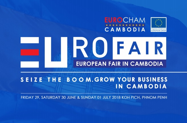 European Fair in Cambodia June – July 2018