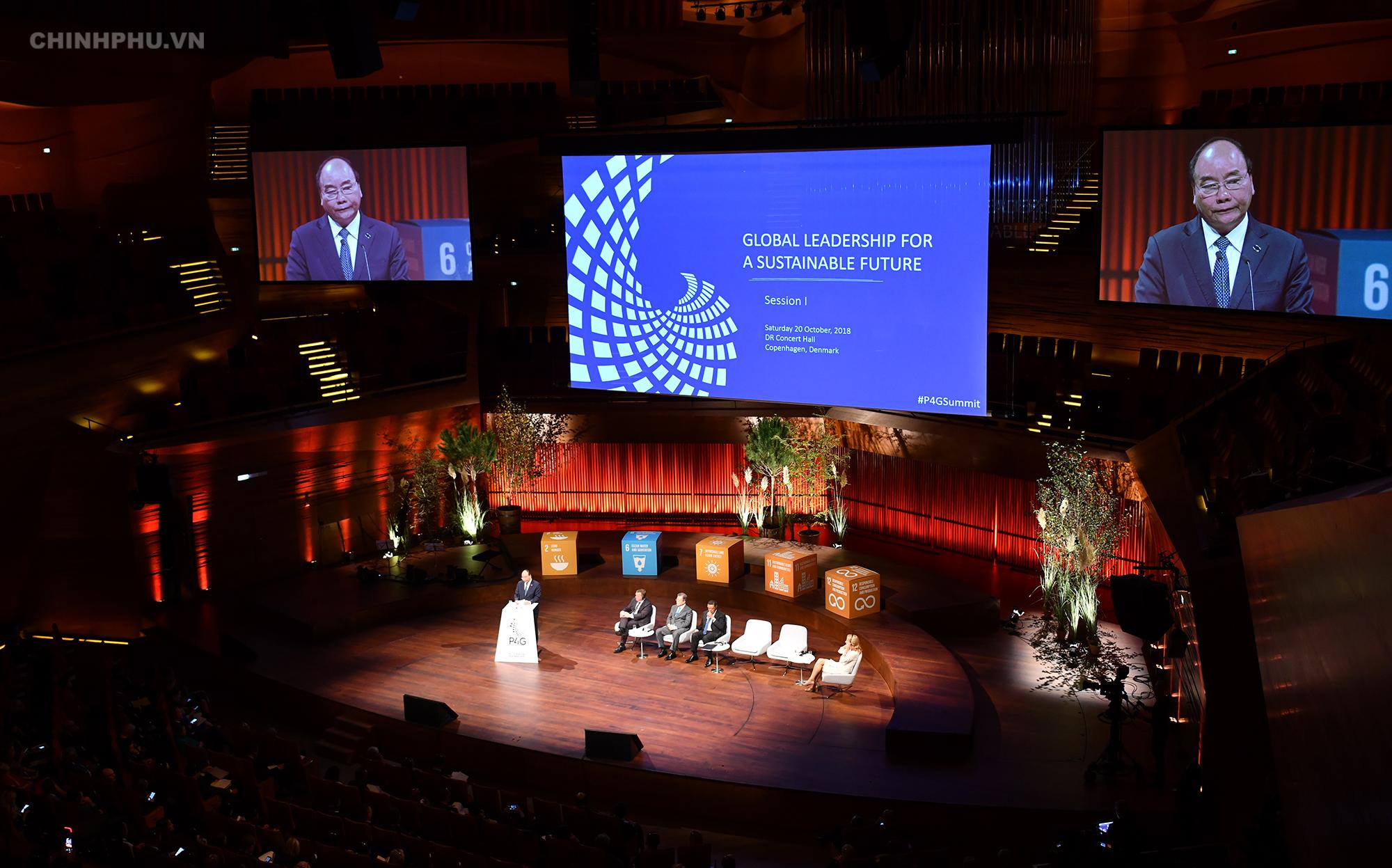 Vietnamese PM vows to realize global goals at P4G Copenhagen Summit