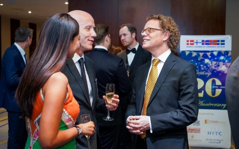 Swedish Ambassador - H.E. Pereric Högberg