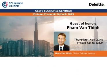 HCMC, Nov 22: CCIFV Economic Seminar