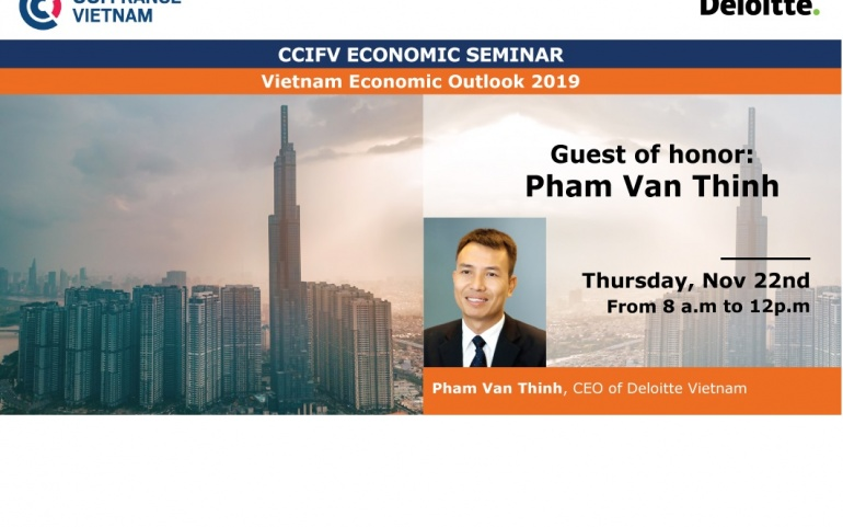 HCMC, Nov 22: CCIFV Economic Seminar