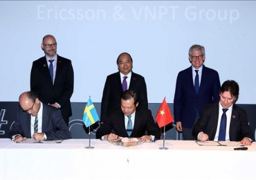 Ericsson & VNPT to cooperate in Industry 4.0 and IoT