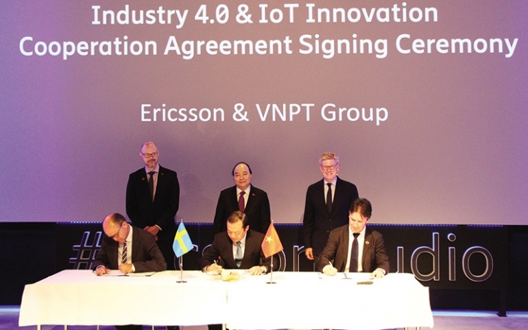 Ericsson drives Industry 4.0 in Vietnam