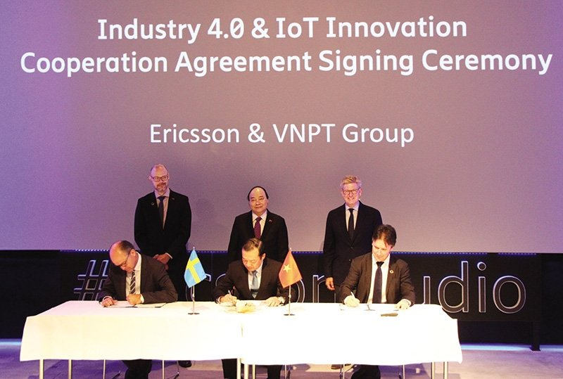 Ericsson drives Industry 4.0 in Vietnam
