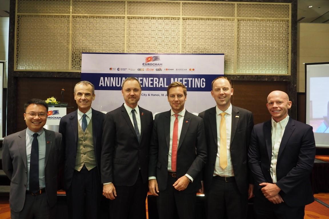 NordCham representatives in EuroCham ExCo 2020